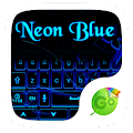 App Neon Blue GO Keyboard Theme APK for Kindle