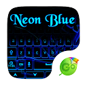 Neon Blue GO Keyboard Theme 4.16 APK Download