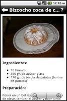 Screenshot of Recetas Españolas