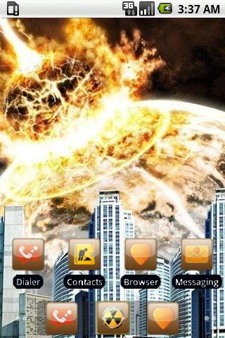 Exploded Planet [SQTheme] ADW