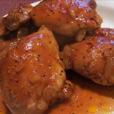 Southern-Style Honey Barbecued Chicken
