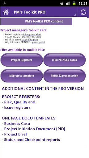【免費生產應用App】Project Management Toolkit PRO-APP點子