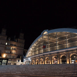 Lime Street Station by Pat Murphy - Buildings & Architecture Other Exteriors