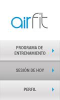 Screenshot of airfit