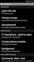 Screenshot of find phone, Key Tag,loss