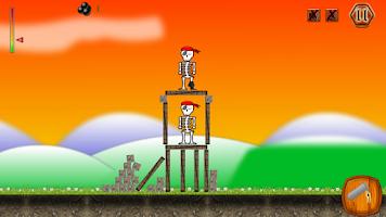 Screenshot of Crush The Skeleton Defense