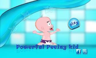 Screenshot of Powerful Peeing Kid