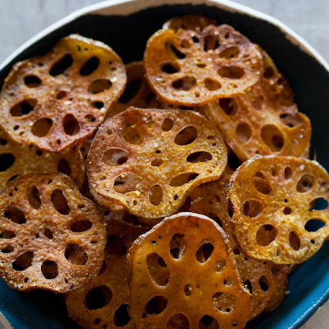 Cumin Spiced Lotus Chips