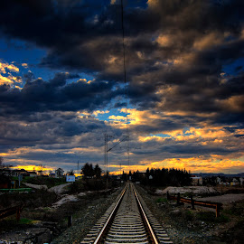 by Dragan Duric - Transportation Railway Tracks