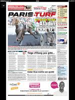 Screenshot of Paris-Turf