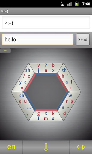 Hexogen keyboard Demo