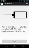 Screenshot of ADB Wireless (no-root)