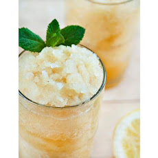 Ginger Tea Granita