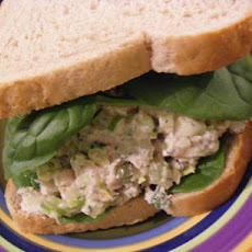 Tuna, Celery & Dill Sandwich (21 Day Wonder Diet: Day 15)