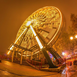 Linnanmäki,Helsinki,Finland by Tony Paldanius - City,  Street & Park  Amusement Parks ( amusement park, amusement ride, amusement, amusement parks, fun )