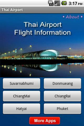 Thai Airport RealTime Flight