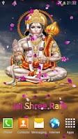 Screenshot of Hanuman Ji LiveWall and Temple