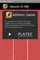 Screenshot of Athletic Game!