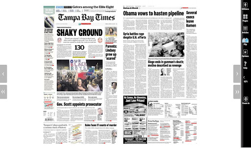 Tampa Bay Times NIE 2012