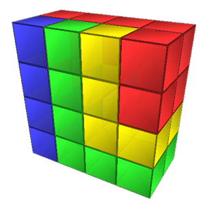Blocks 3D Icon