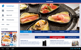 Screenshot of ALDI België