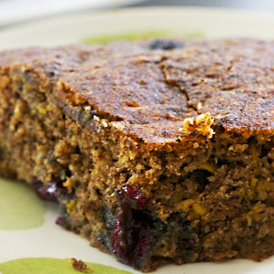 Blueberry-Zucchini Cake (It's Vegan!)