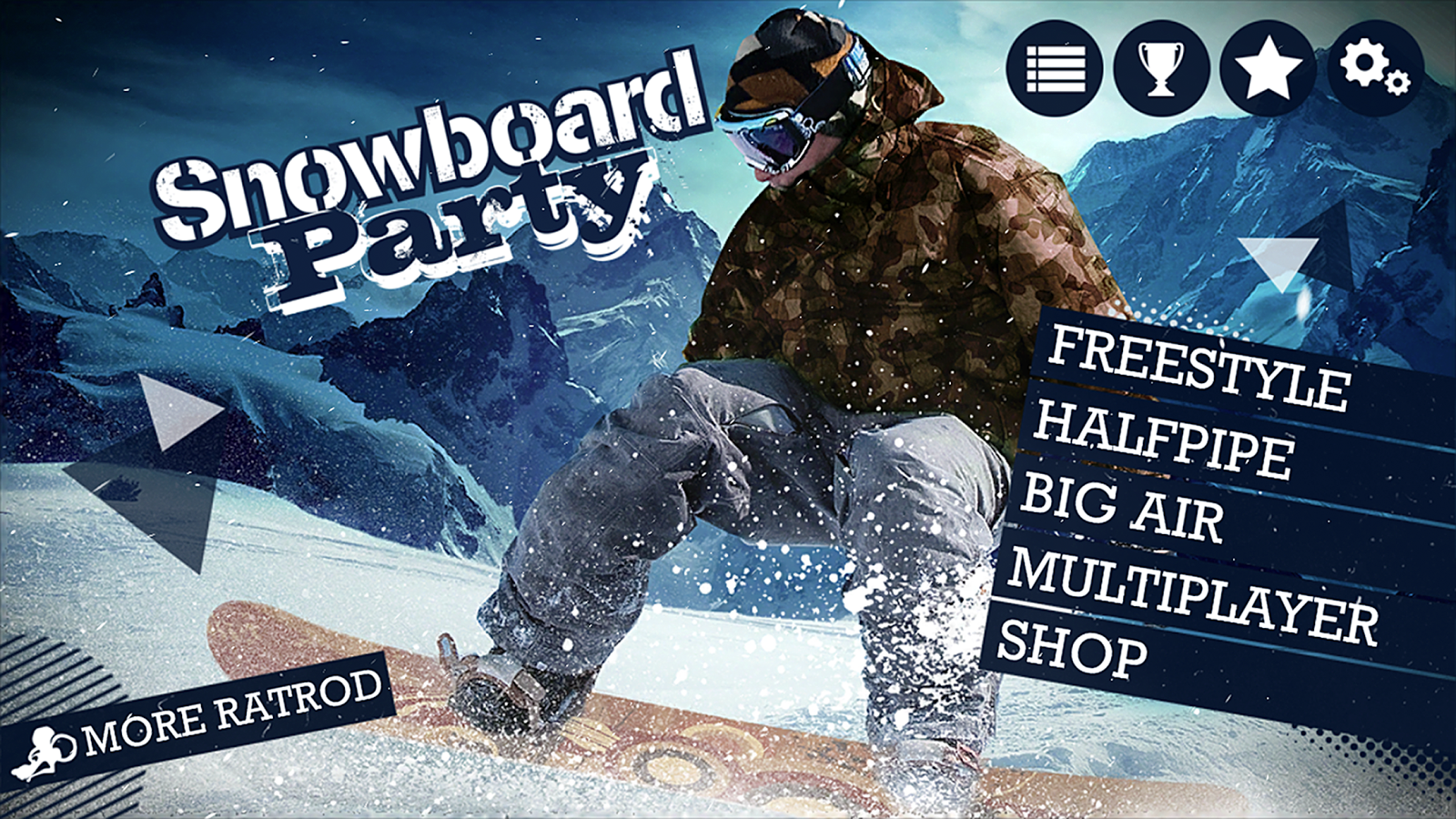Snowboard Party Screenshot 1