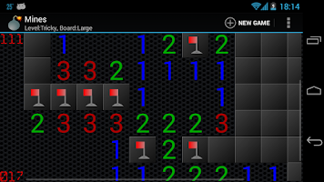 Screenshot of Mines (Minesweeper)