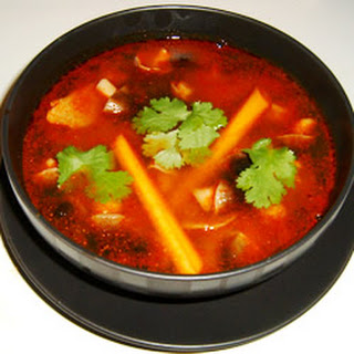Vegetable Tom Yum Soup Recipes