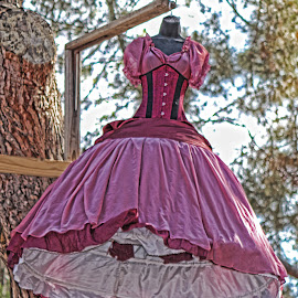 Pink Ren Faire Dress by Leah N - Artistic Objects Clothing & Accessories ( ren fair last weekend 2014, artistic, object )