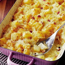 Cheesy Swiss bake