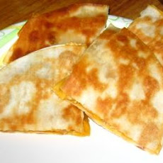 Nif's Very Basic Cheese Quesadillas