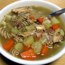Post Thanksgiving Turkey Soup