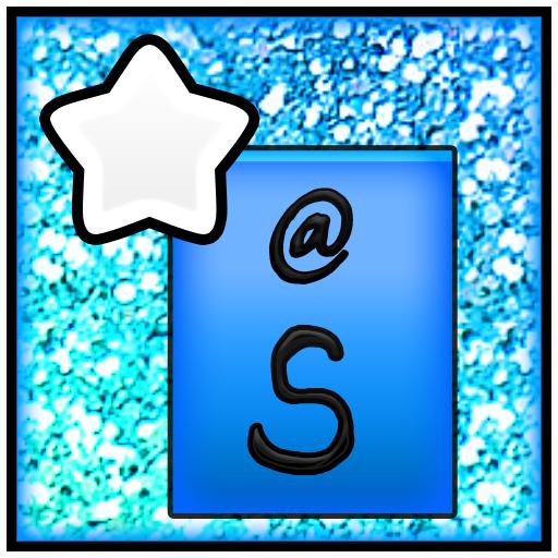 KB SKIN - Pastel Glitter Star5 LOGO-APP點子