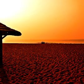 Beauty of Dawn by Arnab Bhattacharyya - Landscapes Beaches