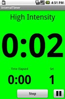 Screenshot of IntervalTimer