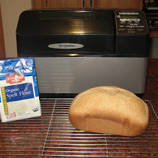 Basic Spelt Bread for Oven or Bread Machine