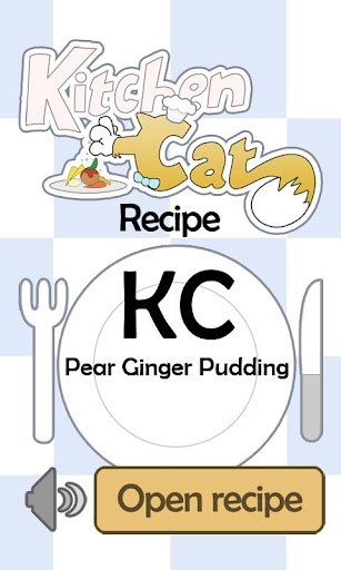 KC Pear Ginger Pudding