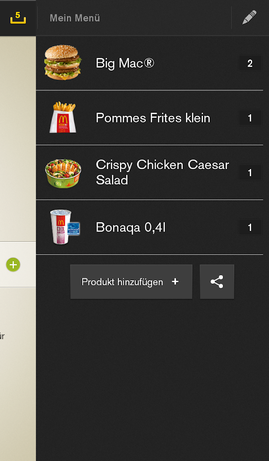 McDonald's Deutschland Screenshot 3