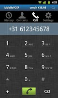 Screenshot of VoipChief - Cheaper calls
