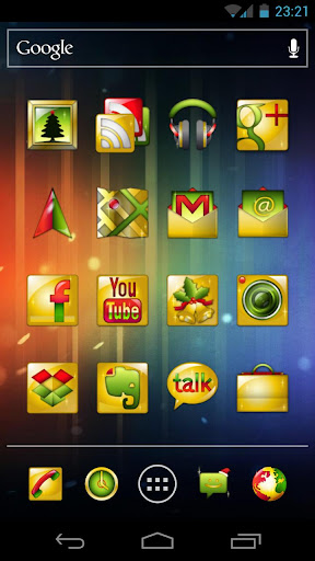 dvr-gold-xmas for android screenshot