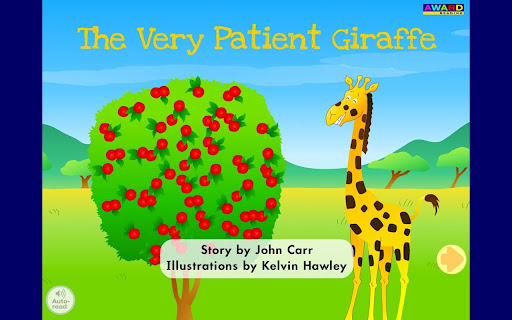 The Very Patient Giraffe