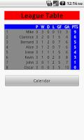 Screenshot of League Generator