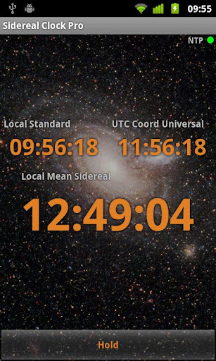 Sidereal Clock Pro