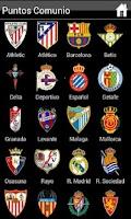 Screenshot of Liga BBVA - Comunio