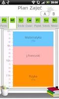 Screenshot of Plan zajęć / lekcji