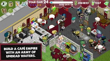 Screenshot of Zombie Café