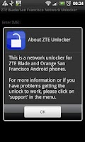 Screenshot of DroidGram Network Unlock Pro