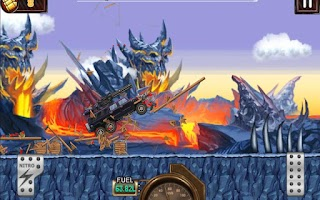 Screenshot of Monster Dash Hill Racer