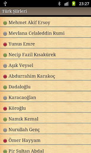 Turk siirleri